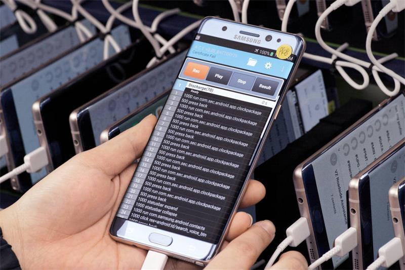 三星正式公布Note7手机爆炸原因:电池问题工艺缺陷!