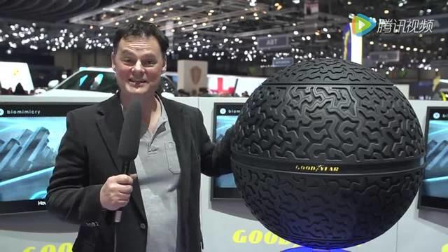 高科技圆形轮胎出来了